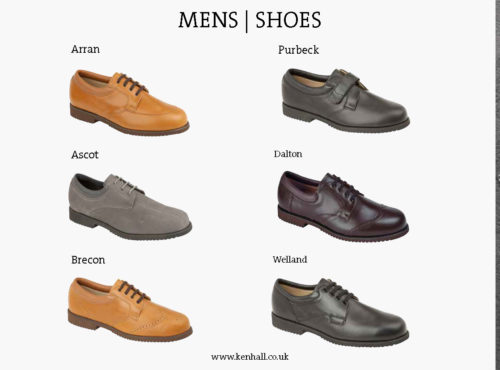 Ken Hall footwear catalogue page 19