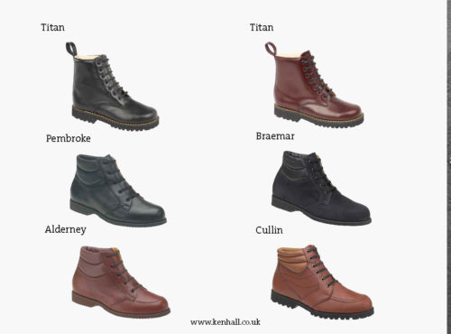 Ken Hall footwear catalogue page 25