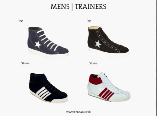 Ken Hall footwear catalogue page 27