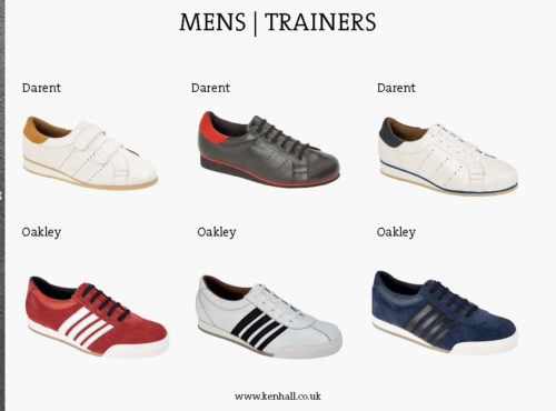 Ken Hall footwear catalogue page 28