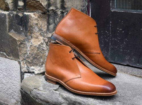 Newman and Regent Chukka Boot - Brown